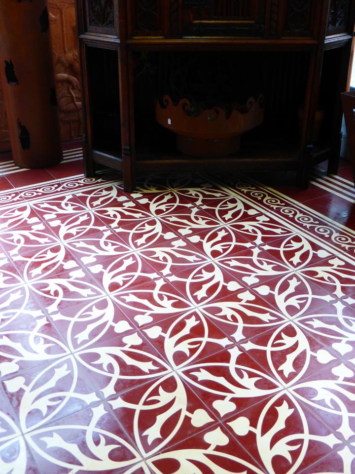 zementfliesen und andere historische platten die fliese. Black Bedroom Furniture Sets. Home Design Ideas